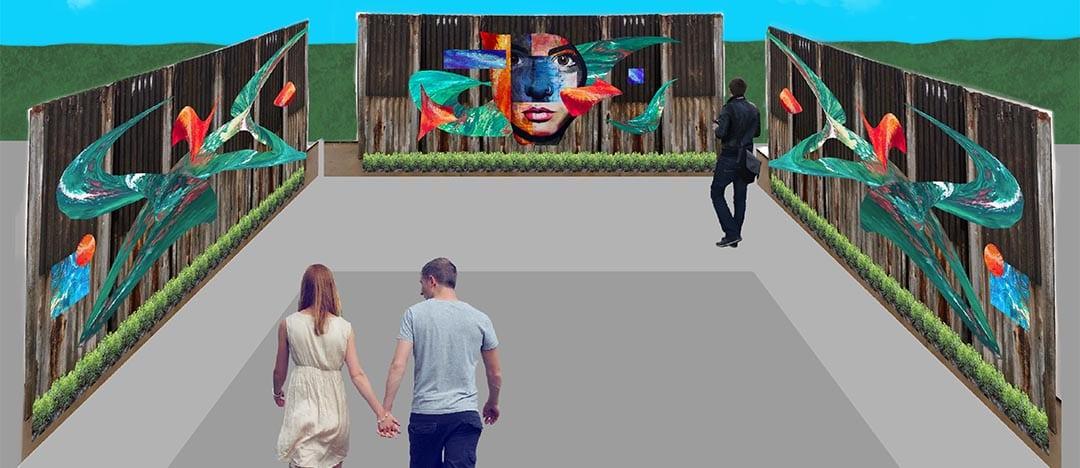 Budding Student Artists Exhibit at RHS Urban Garden Gallery