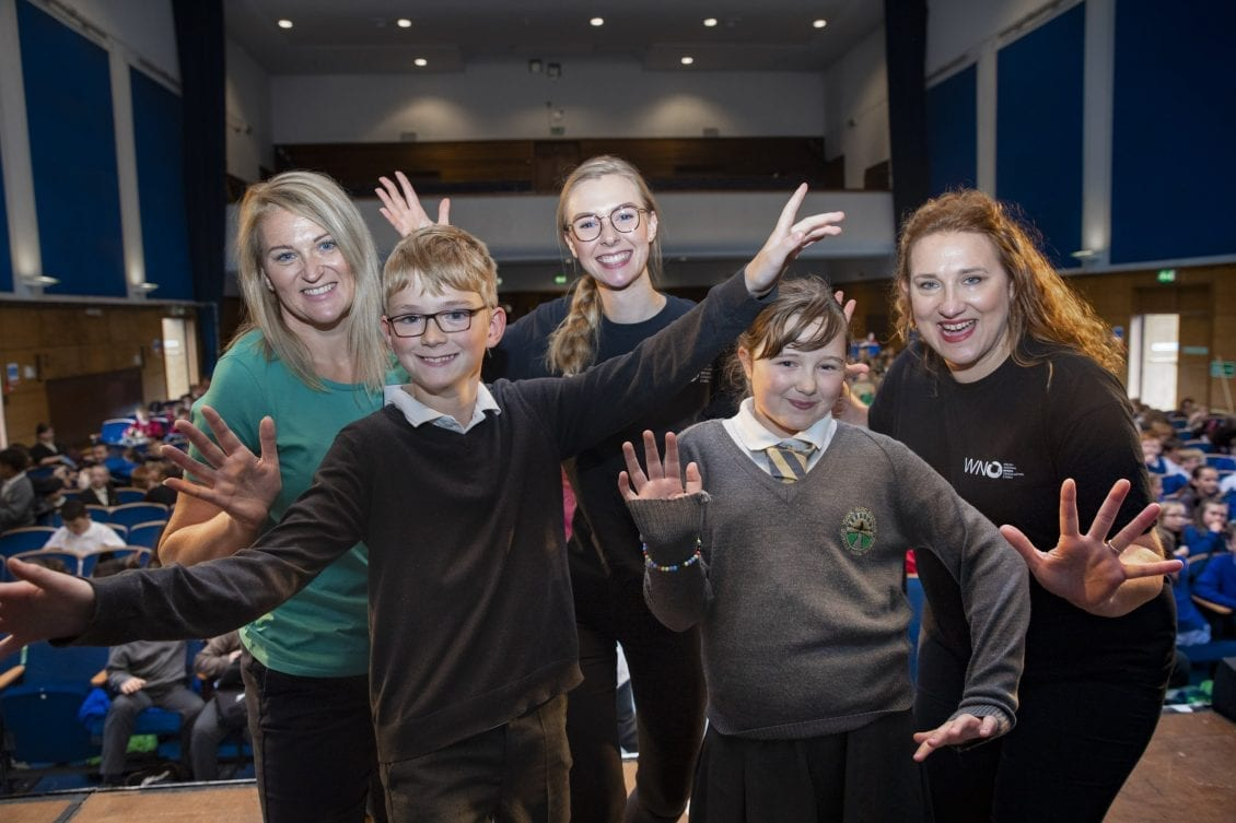 Schoolchildren Hit The High Notes With Top Us Opera Soprano