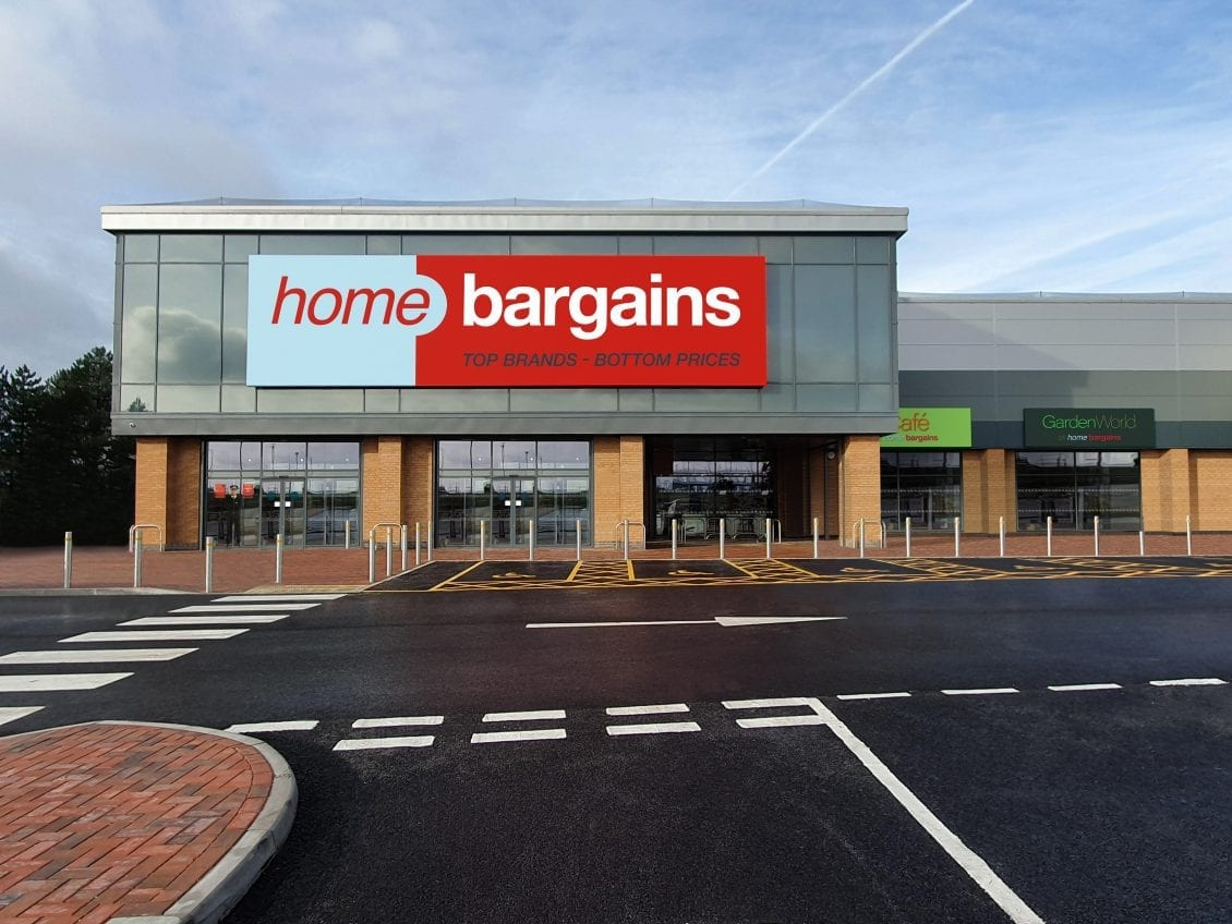 home bargains opens new store in carmarthenshire