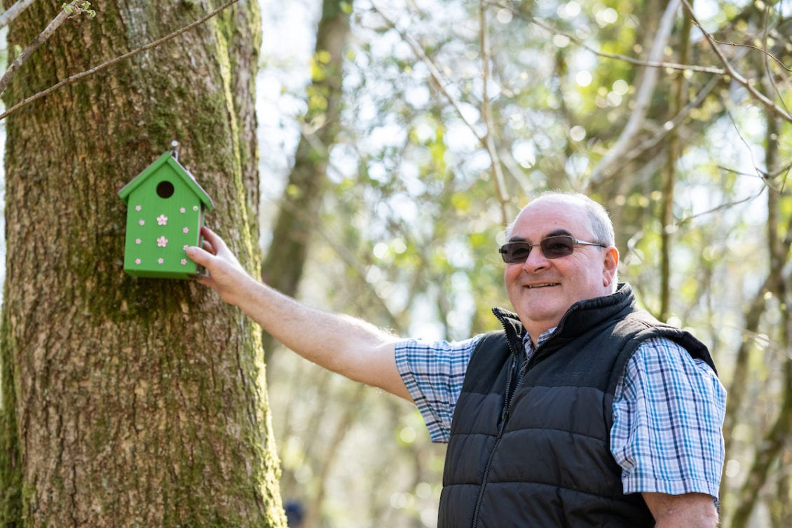 Welsh Lottery Winners Create Forest Nest Boxes to Encourage Wildlife